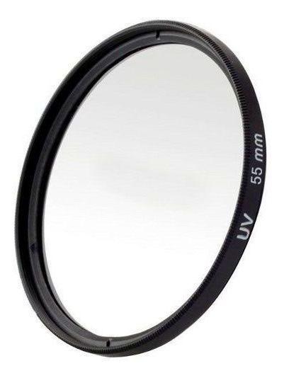 Filtro Uv Ultravioleta Profissional Para Lente Câmera Fotográfica 55mm