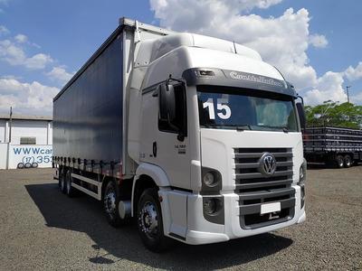 Vw 24280 8x2 2015 Bitruck Bau Sider - Sb Veiculos