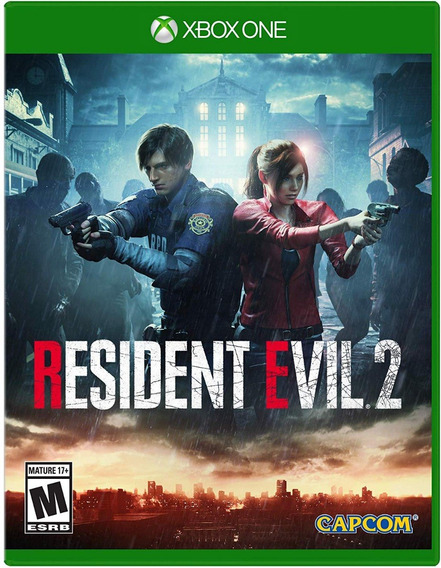 Resident Evil 2 - Xbox One - Midia Fisica! Pronta Entrega!