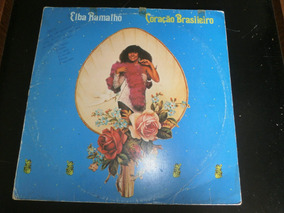 Lp Elba Ramalho, Coração Brasileiro, Disco Vinil, Ano 1983