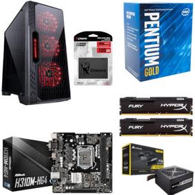 Pc Lumia Pentium G5400 Mb H310m Hg4 Hx 16gb Vs400 Ssd 120gb