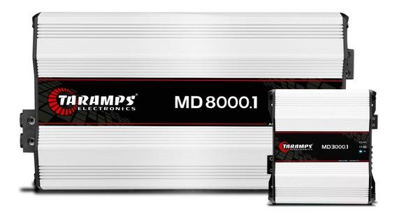 Kit Hd-3000 + Hd-8000 Sendo De 1 Ohm Ambos