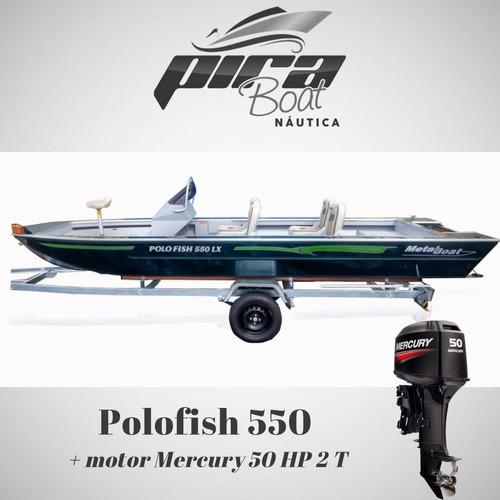 Imagem 1 de 8 de Lancha Polo Fish 550