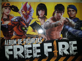 Album Free Fire 2019 Original Industria Argentina