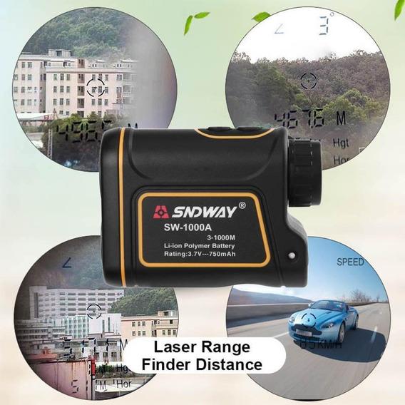 Telêmetro Monóculo Medidor Distância Laser 1000m Range Find