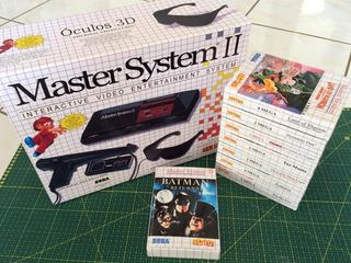 1 Caixas Master System Para Jogos