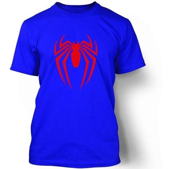 Playera Koyi 602 Spider-man Talla S M L Xl 2xl 3xl Caballero