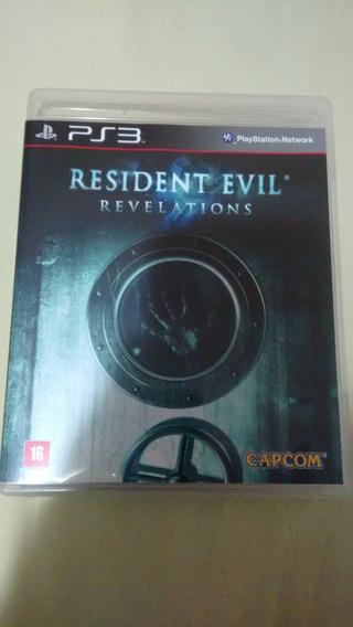 Resident Evil Revelations Ps3 Deslacrado Nunca Usado