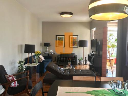 Av. Angélica : Apartamento Reformado Incrível De 144 M² Em Higienópolis - Ja1921