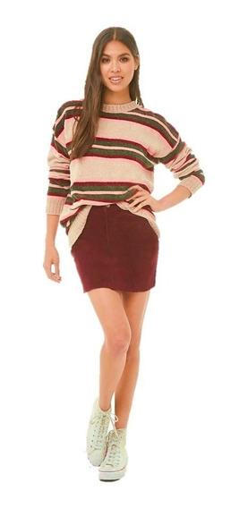 Sweater Chenille Tela Suave Forever 21 Moda Invierno Mujer
