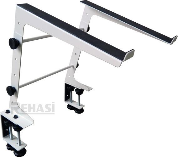 Suporte Laptop Stand Dj Tabletop (com Fixação Da Base)