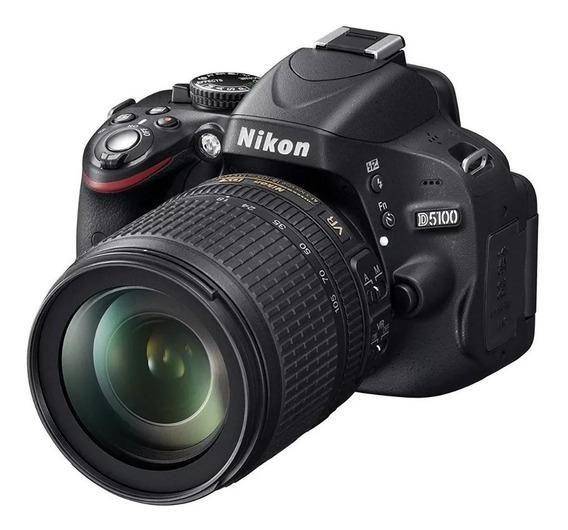 Camara Reflex Nikon D5100 Objetivo 18-55mm Vr