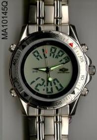 Relógio Magnum Anadig Em Aço