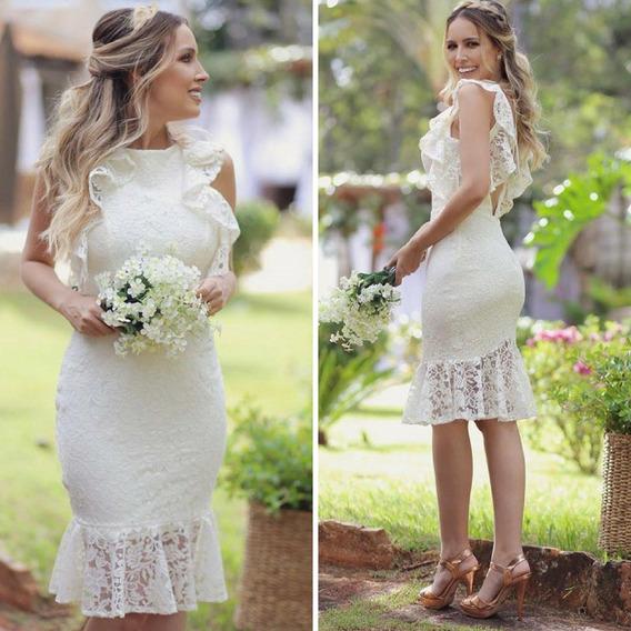 Vestido Casamento Civil, Vestido Pre Wedding #midoranoiva