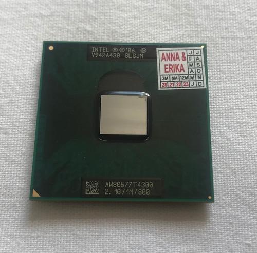 Processador Intel Notebook T4300 2.10/1m/800 Novo