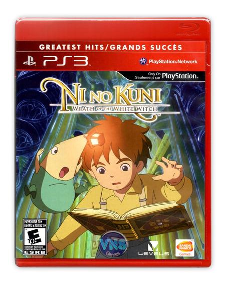 Ni No Kuni Wrath Of The White Witch - Ps3 - Com Detalhe*
