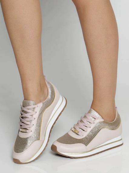 Tênis Feminino Jogging Vizzano Glitter