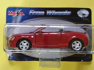 Miniatura Audi Tt Roadster - Maisto Free Wheels 1/36 Coupé