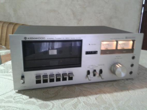 Deck Cassette Kenwood Japonés Funcional. 15 Verdes.!
