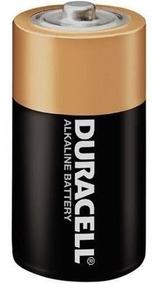 Kit 2 Pilha Duracell Alcalina Grande D Original