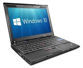 Lenovo X201 4gb 500gb Core I5 Ultrabase Bateria 9cel. Lindo!