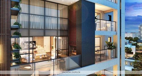 Apartamento Duplex Com 2 Dormitórios À Venda, 104 M² Por R$ 1.221.000,00 - Batel - Curitiba/pr - Ad0136