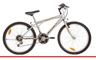 Bicicleta Halley M Bike Hombre 18 Vel Rodado 24 Selectogar6