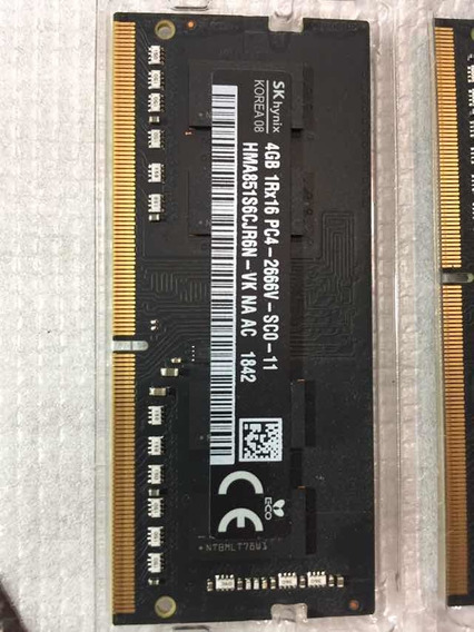 Memoria Original Apple 4gb 2666 Ddr-4