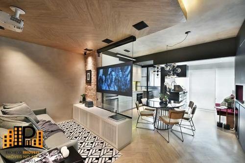 Imagem 1 de 30 de Magnífico Apartamento Planejado À Venda 74m2, 02 Dormitórios, Suíte, 01 Vaga Coberta - Centro De São Bernardo Do Campo - Ap03426 - 69803677