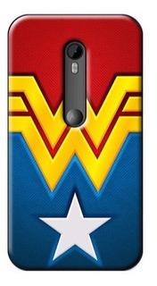 Forros Moto X G3 G2 G1 G E E2 Motorola Nexus 6 Marvel