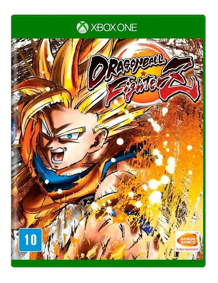 Jogo Dragonball Fighter Z Xbox One Midia Física Portugues