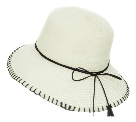 Sombrero De Playa Sol Para Niña Flexible Spn 223-006
