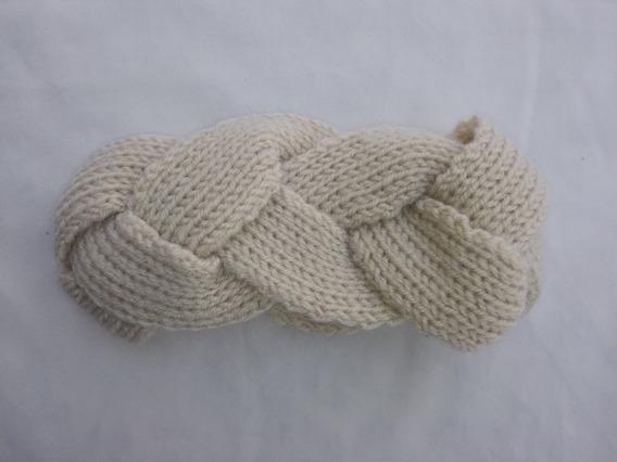 Braided Headwrap, Turbante Trenzada, Unitalla