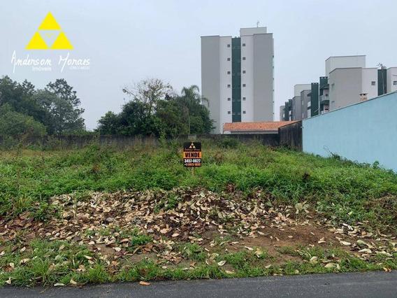 Terreno À Venda, 400 M² Por R$ 300.000 - Centro - Barra Velha/sc - Te0192