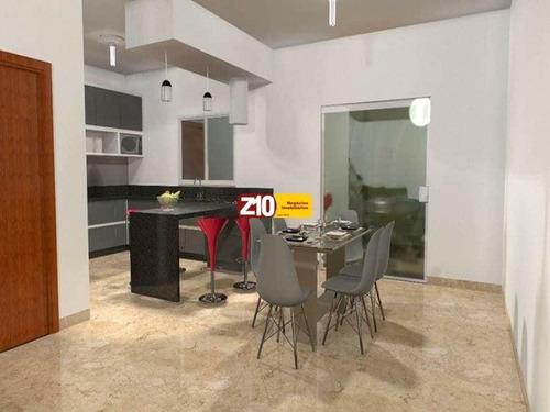 Chácara Com Casa Pra Ser Financiada No Modelo Terreno + Cosntrução - Ch01780 - 68057880