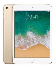 iPad Mini 4 128gb Wi-fi Lacrado Mini4 Garantia 1 Ano Apple