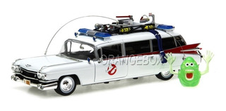 Cadillac Caça Fantasmas Ghostbuster Ecto-1 59 Autoworld 1:18