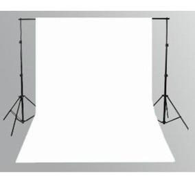 1 Tecido 3x6 Branco Fundo Infinito Estudio Fotografico Foto