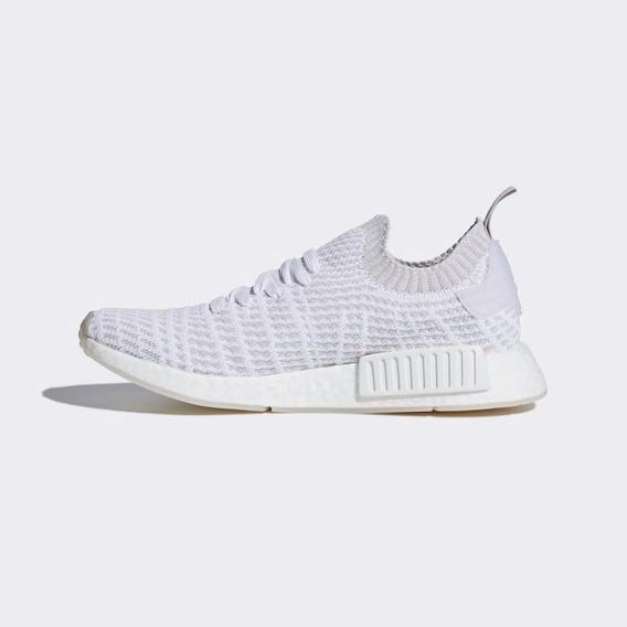 adidas Nmd R1 Stlt Primeknit Ftwr White/grey One F17/solar P