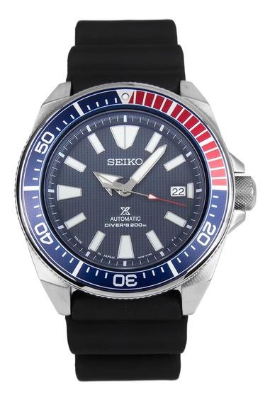 Incrível Relógio Seiko Samurai Srpb53 Igual A Novo Aproveite