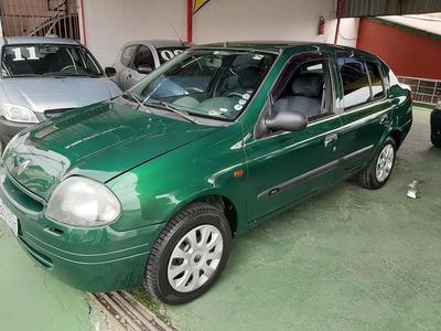 Clio Sedan 2001/1.6/direçao/super Novo