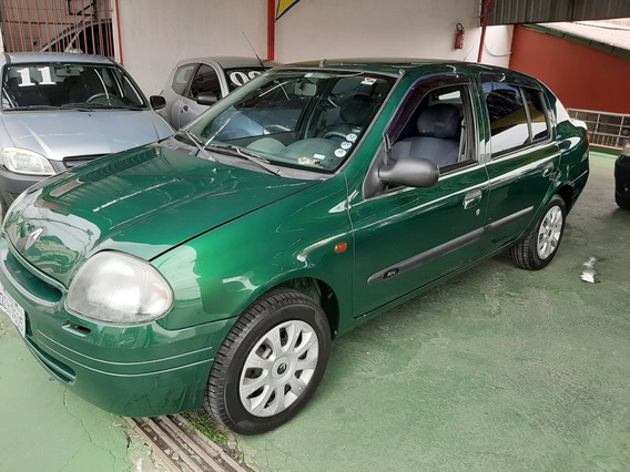 Clio Sedan 2001/1.6/direçao/super Novo