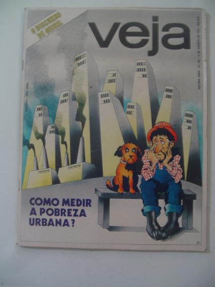 Revista Veja 361 Carmen Miranda Zico Pace Pobreza Fusca 1975