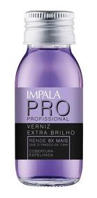 Esmalte Impala Pro - Verniz Extra Brilho 60ml
