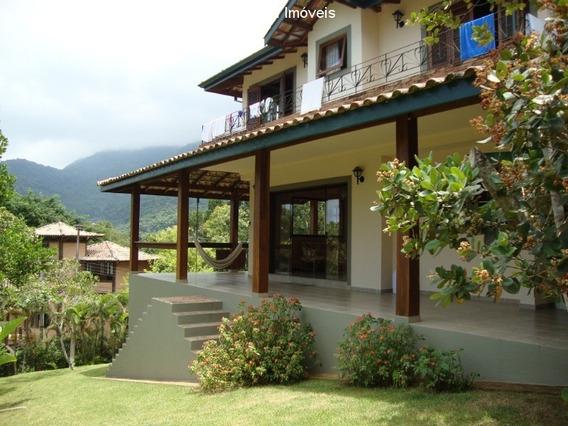 Casa Na Praia Do Prumirim Em Ubatuba-sp - Cov254 - 34464008