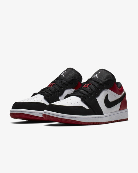 Tenis Air Jordan 1 Low Black Toe Talla #9mx
