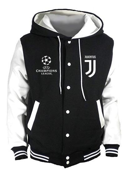 Chaqueta Tipo Universitaria Juventus F.c Estampado Uefa