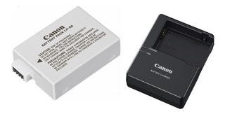 Cargador Canon Lc-e8 + Bateria Lp-e8 T2i T3i T4i T5i D550