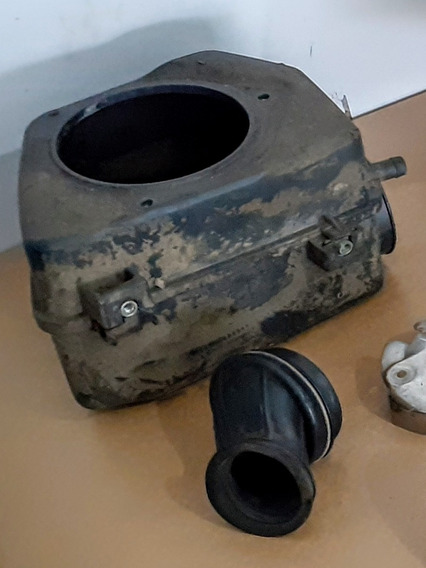 Caixa Filtro De Ar Intruder 125 + Coletor