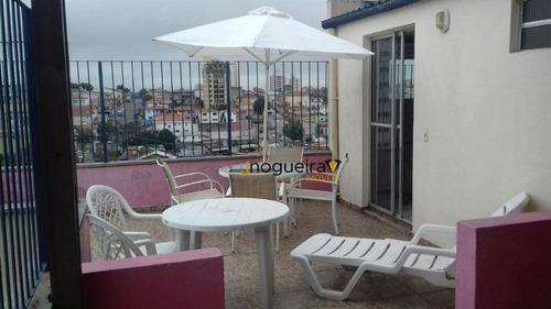 Cobertura Com 2 Dormitórios À Venda, 51 M² Por R$ 600.000,00 - Vila Santa Catarina - São Paulo/sp - Co0146